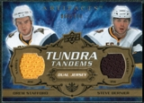 2008/09 Upper Deck Artifacts Tundra Tandems #TTBS Drew Stafford Steve Bernier /100