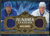 2008/09 Upper Deck Artifacts Tundra Tandems #TTBT Darcy Tucker Jason Blake /100