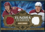2008/09 Upper Deck Artifacts Tundra Tandems #TTDM Shane Doan Peter Mueller /100