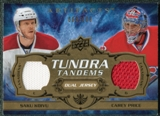 2008/09 Upper Deck Artifacts Tundra Tandems #TTKP Saku Koivu Carey Price /100
