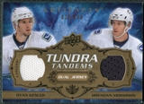 2008/09 Upper Deck Artifacts Tundra Tandems #TTMK Ryan Kesler Brendan Morrison /100