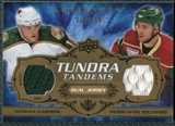 2008/09 Upper Deck Artifacts Tundra Tandems #TTMW Marian Gaborik Pierre-Marc Bouchard /100
