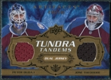 2008/09 Upper Deck Artifacts Tundra Tandems #TTTB Peter Budaj Jose Theodore /100