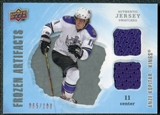 2008/09 Upper Deck Artifacts Frozen Artifacts Dual Silver #FADAK Anze Kopitar /100