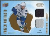 2008/09 Upper Deck Artifacts Frozen Artifacts Dual #FADHS Henrik Sedin /199