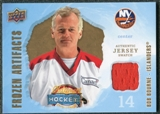 2008/09 Upper Deck Artifacts Frozen Artifacts Retail #FABB Bob Bourne