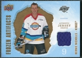 2008/09 Upper Deck Artifacts Frozen Artifacts Retail #FABN Bernie Nicholls