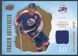 2008/09 Upper Deck Artifacts Frozen Artifacts Retail #FADH Dale Hawerchuk
