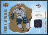 2008/09 Upper Deck Artifacts Frozen Artifacts Retail #FADL David Legwand