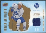 2008/09 Upper Deck Artifacts Frozen Artifacts Retail #FADT Darcy Tucker