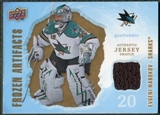 2008/09 Upper Deck Artifacts Frozen Artifacts Retail #FAEN Evgeni Nabokov