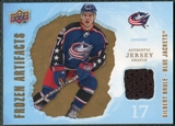 2008/09 Upper Deck Artifacts Frozen Artifacts Retail #FAGB Gilbert Brule