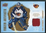 2008/09 Upper Deck Artifacts Frozen Artifacts Retail #FAKL Kari Lehtonen