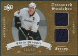 2008/09 Upper Deck Artifacts Treasured Swatches Dual #TSDCP Chris Pronger /199