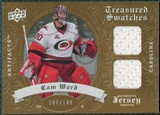 2008/09 Upper Deck Artifacts Treasured Swatches Dual #TSDCW Cam Ward /199