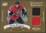 2008/09 Upper Deck Artifacts Treasured Swatches Dual #TSDDH Dany Heatley /199