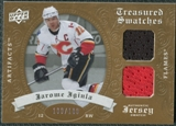 2008/09 Upper Deck Artifacts Treasured Swatches Dual #TSDJI Jarome Iginla /199