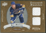 2008/09 Upper Deck Artifacts Treasured Swatches Dual #TSDJM Joe Mullen /199