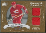 2008/09 Upper Deck Artifacts Treasured Swatches Dual #TSDLM Lanny McDonald /199