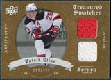2008/09 Upper Deck Artifacts Treasured Swatches Dual #TSDPE Patrik Elias /199