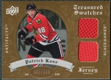 2008/09 Upper Deck Artifacts Treasured Swatches Dual #TSDPK Patrick Kane /199