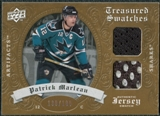 2008/09 Upper Deck Artifacts Treasured Swatches Dual #TSDPM Patrick Marleau /199