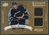 2008/09 Upper Deck Artifacts Treasured Swatches Dual #TSDRG Ryan Getzlaf /199