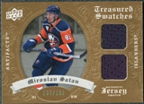 2008/09 Upper Deck Artifacts Treasured Swatches Dual #TSDSA Miroslav Satan /199