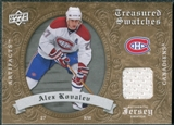 2008/09 Upper Deck Artifacts Treasured Swatches Retail #TSAK Alex Kovalev