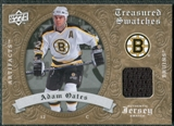 2008/09 Upper Deck Artifacts Treasured Swatches Retail #TSAO Adam Oates