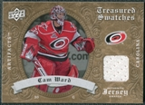 2008/09 Upper Deck Artifacts Treasured Swatches Retail #TSCW Cam Ward