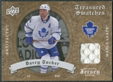 2008/09 Upper Deck Artifacts Treasured Swatches Retail #TSDT Darcy Tucker