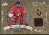 2008/09 Upper Deck Artifacts Treasured Swatches Retail #TSGE Martin Gerber