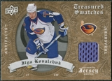 2008/09 Upper Deck Artifacts Treasured Swatches Retail #TSIK Ilya Kovalchuk