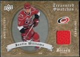 2008/09 Upper Deck Artifacts Treasured Swatches Retail #TSJW Justin Williams