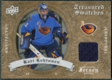 2008/09 Upper Deck Artifacts Treasured Swatches Retail #TSKL Kari Lehtonen