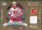 2008/09 Upper Deck Artifacts Treasured Swatches Retail #TSLM Lanny McDonald
