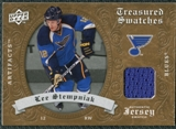 2008/09 Upper Deck Artifacts Treasured Swatches Retail #TSLS Lee Stempniak