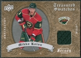 2008/09 Upper Deck Artifacts Treasured Swatches Retail #TSMK Mikko Koivu