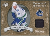 2008/09 Upper Deck Artifacts Treasured Swatches Retail #TSMN Markus Naslund