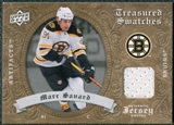 2008/09 Upper Deck Artifacts Treasured Swatches Retail #TSMS Marc Savard