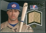 2008 Upper Deck USA Baseball Camo Cloth Jerseys #CC1 Pedro Alvarez