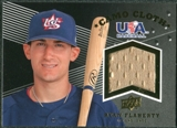 2008 Upper Deck USA Baseball Camo Cloth Jerseys #CC5 Ryan Flaherty