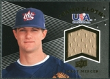2008 Upper Deck USA Baseball Camo Cloth Jerseys #CC14 Jordy Mercer