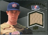 2008 Upper Deck USA Baseball Camo Cloth Jerseys #CC19 Cody Satterwhite
