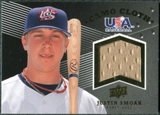 2008 Upper Deck USA Baseball Camo Cloth Jerseys #CC20 Justin Smoak