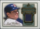 2009 Upper Deck SP Legendary Cuts Legendary Memorabilia #PM2 Paul Molitor /125