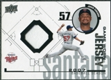 2008 Upper Deck UD Game Materials 1998 #JS Johan Santana