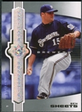 2007 Upper Deck Ultimate Collection #29 Ben Sheets /450
