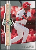 2007 Upper Deck Ultimate Collection #35 Jimmy Rollins /450